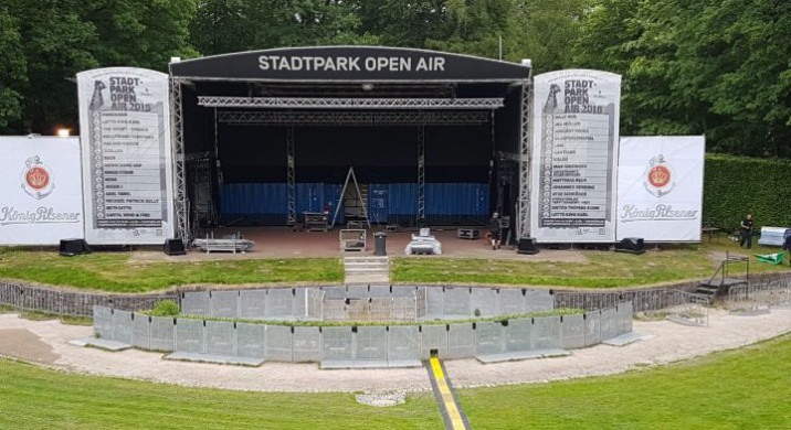 "<span class=""caps"">NEWS</span> / 18.05.2018 / Die Stadtparksaison kann kommen"